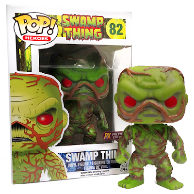 Previews Exclusive DC Comics Swamp Thing Pop! Heroes Vinyl Figure by Funko