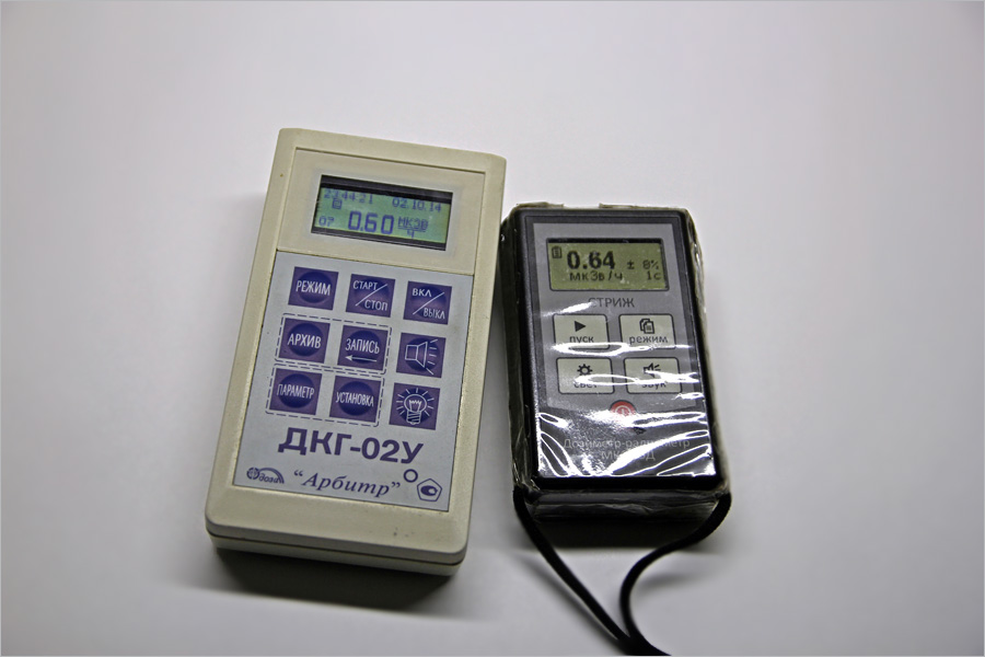 дозиметр-радиометр МКС-03Д «Стриж».