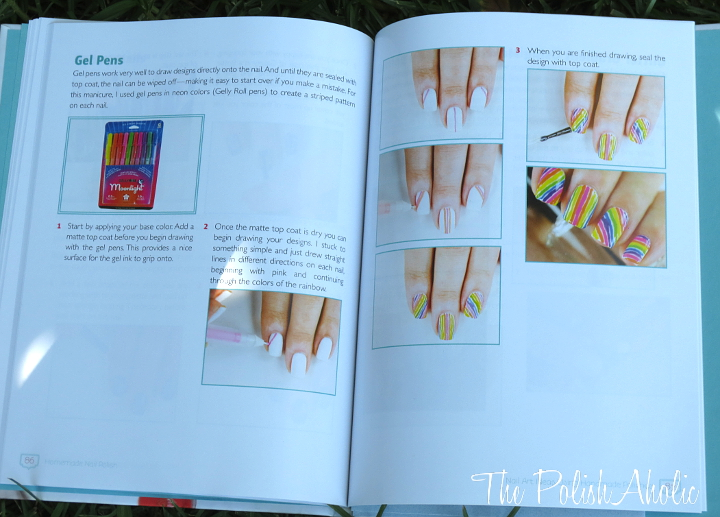 The Polishaholic Book Review Homemade Nail Polish By Allison Rose