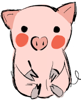 pig emoticon facebook