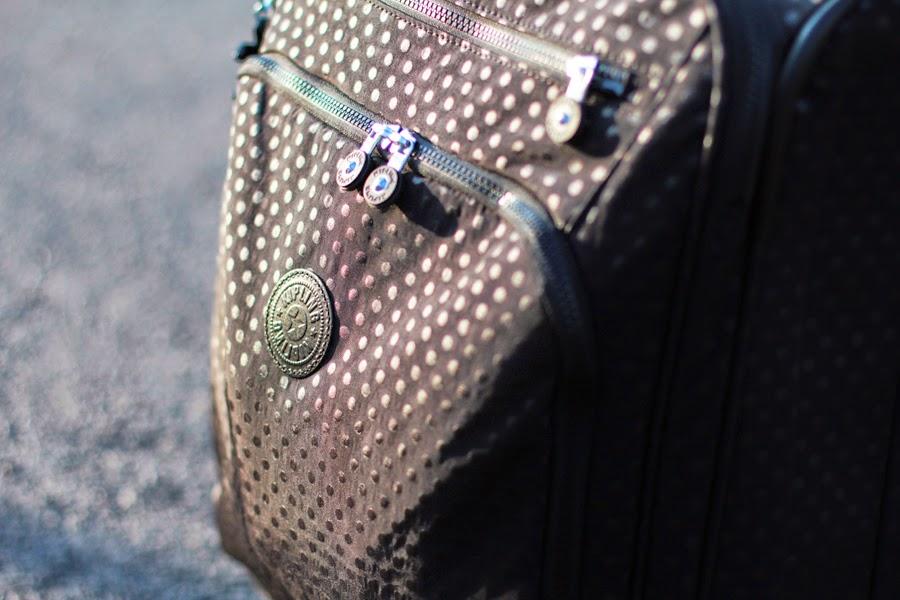 kipling suitcase