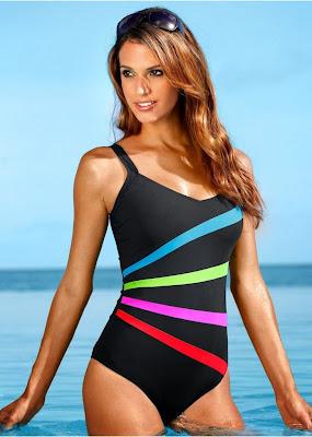 Brazilian babe Rayla Jacunda hotness, sensual, and wet body for in sexy bikini for Bonprix Swimwear Model