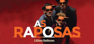 """Teatro  Aberto peça """"As Raposas""""  com Virgílio Castelo João Perry Luisa Cruz"""