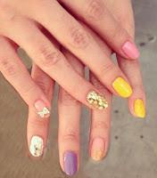 moda uñas colores