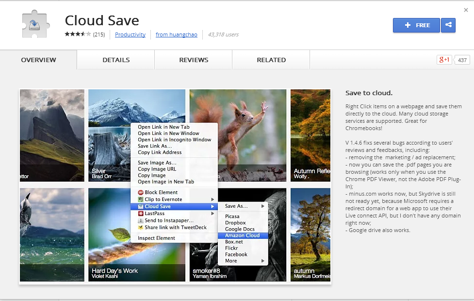 How To Save Files To Cloud Services From Your Web Browser