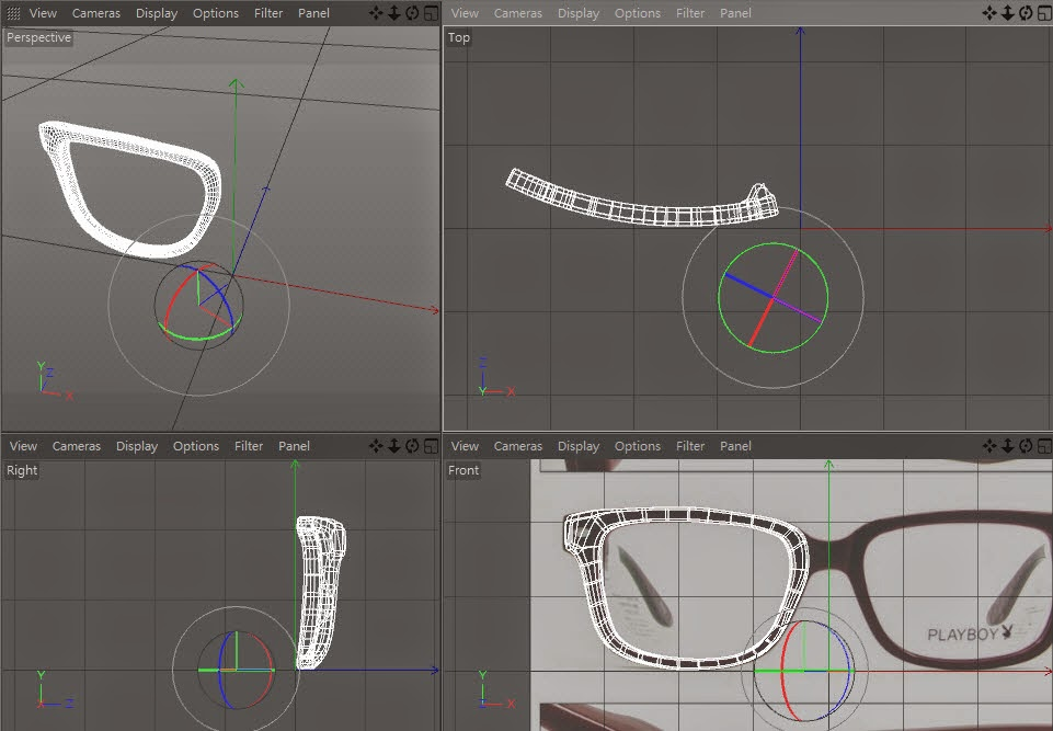Glasses Modeling 30