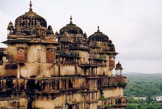 Istana Orchha, Madhya Pradesh - India