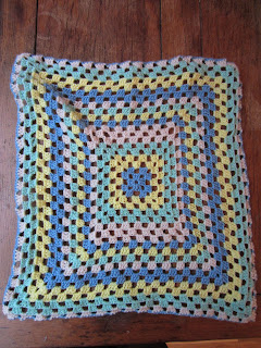 granny crochet doll blanket