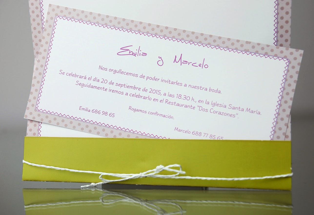 INVITACIÓN DE BODA  34946 CARDNOVEL