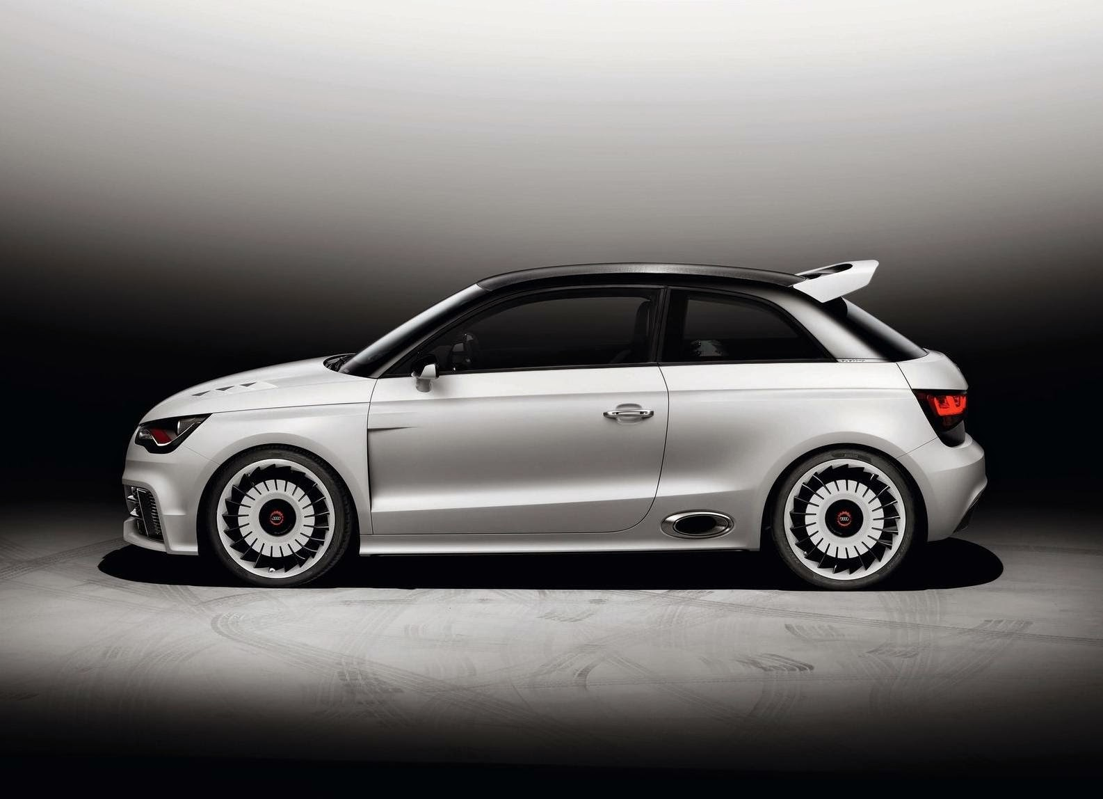Audi A1 Clubsport Quattro Concept 2011 HD Wallpaper
