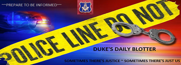 DUKE'S DAILY BLOTTER