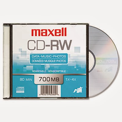 cd rw maxell single pack