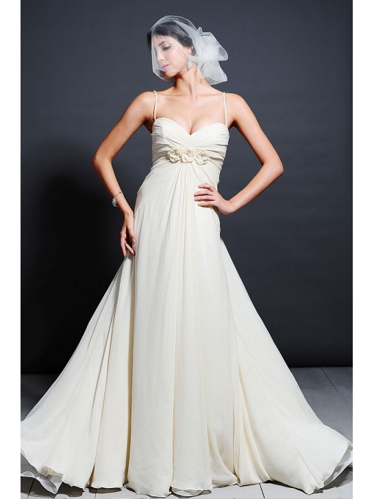 Wedding Dresses  With Straps : Wedding dress business about spaghetti straps dresses