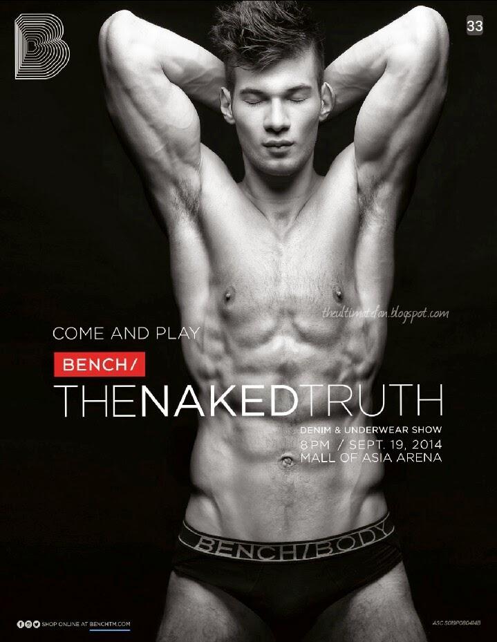 Arnold van Opstal - Bench: The Naked Truth Denim & Underwear Show