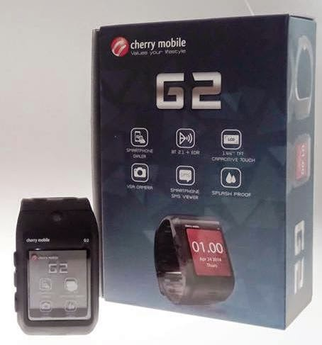 Cherry Mobile G2 Now Available, Wearable Smartphone Dialer for Php1,899
