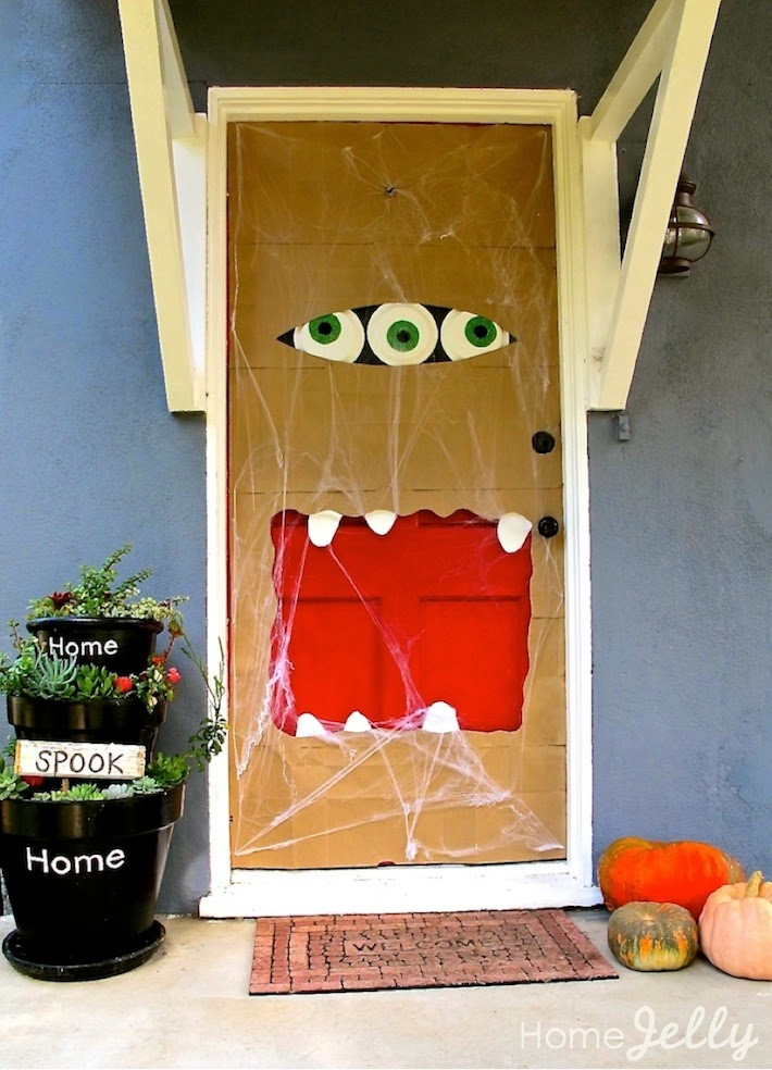 Home Jelly - puerta halloween