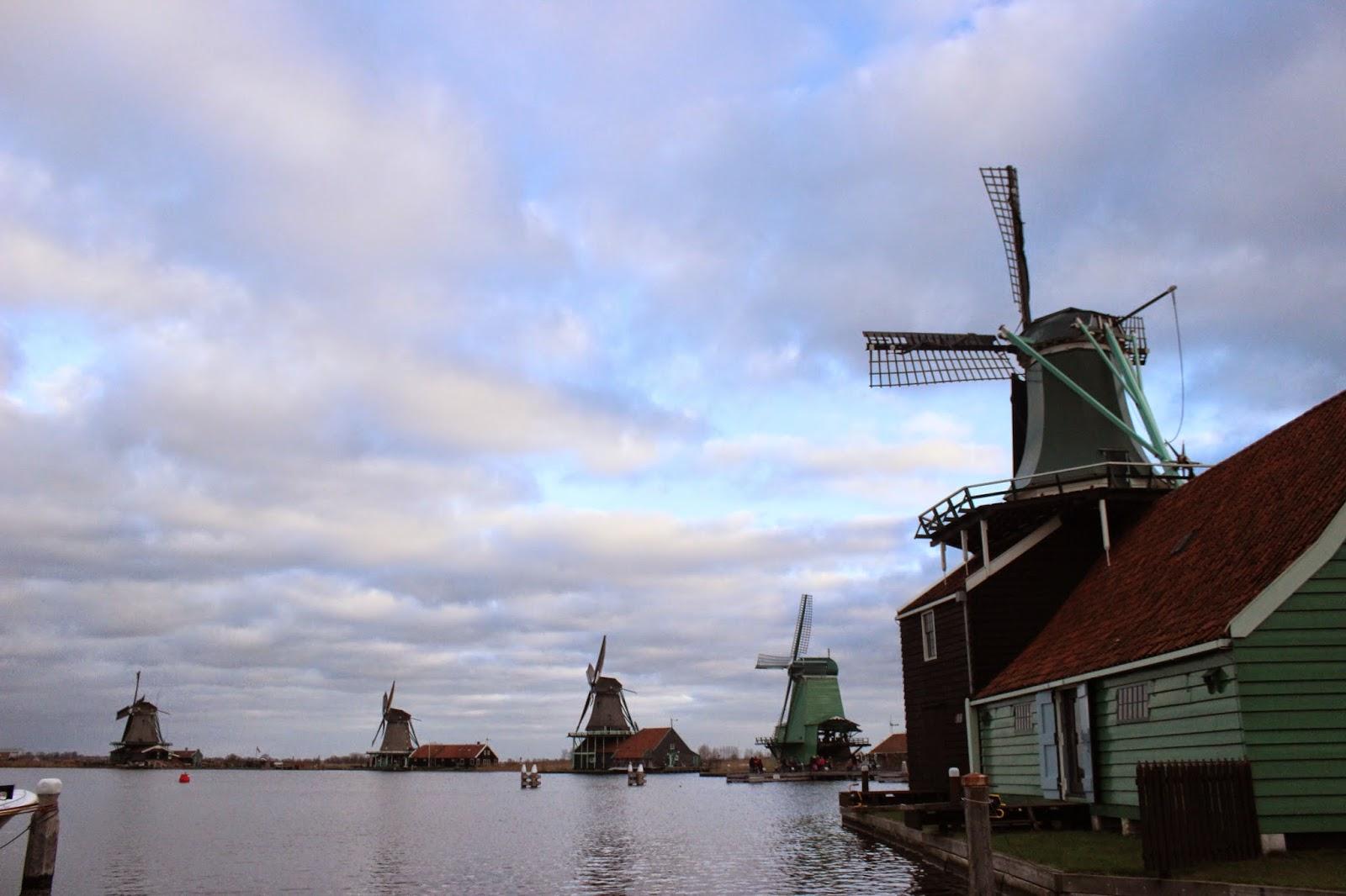 Kincir Angin Zaanse Schans, Belanda