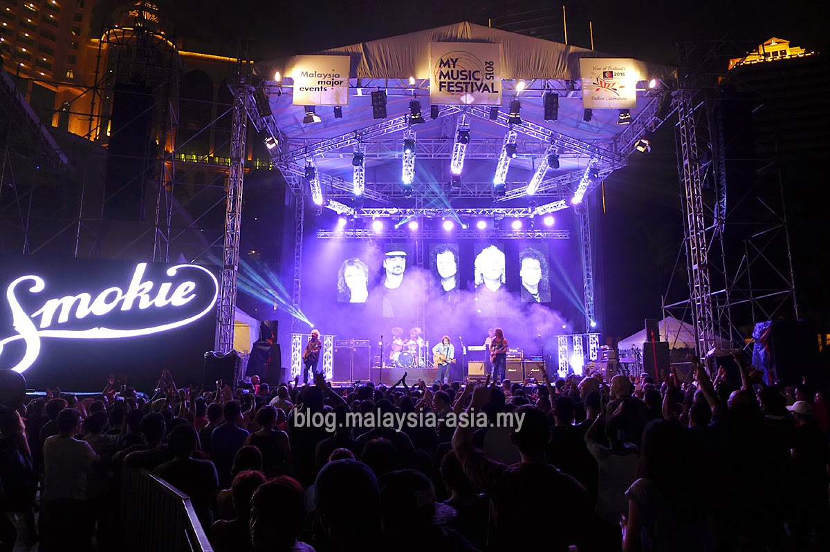 Smokie Live in Malaysia Photos