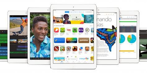 Tablets iPad Air deve chegar ao Brasil a partir de R$ 1.749