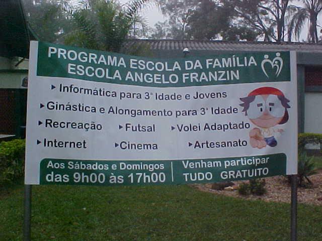 ESCOLA DA FAMÍLIA - E.E. PROF. ANGELO FRANZIN