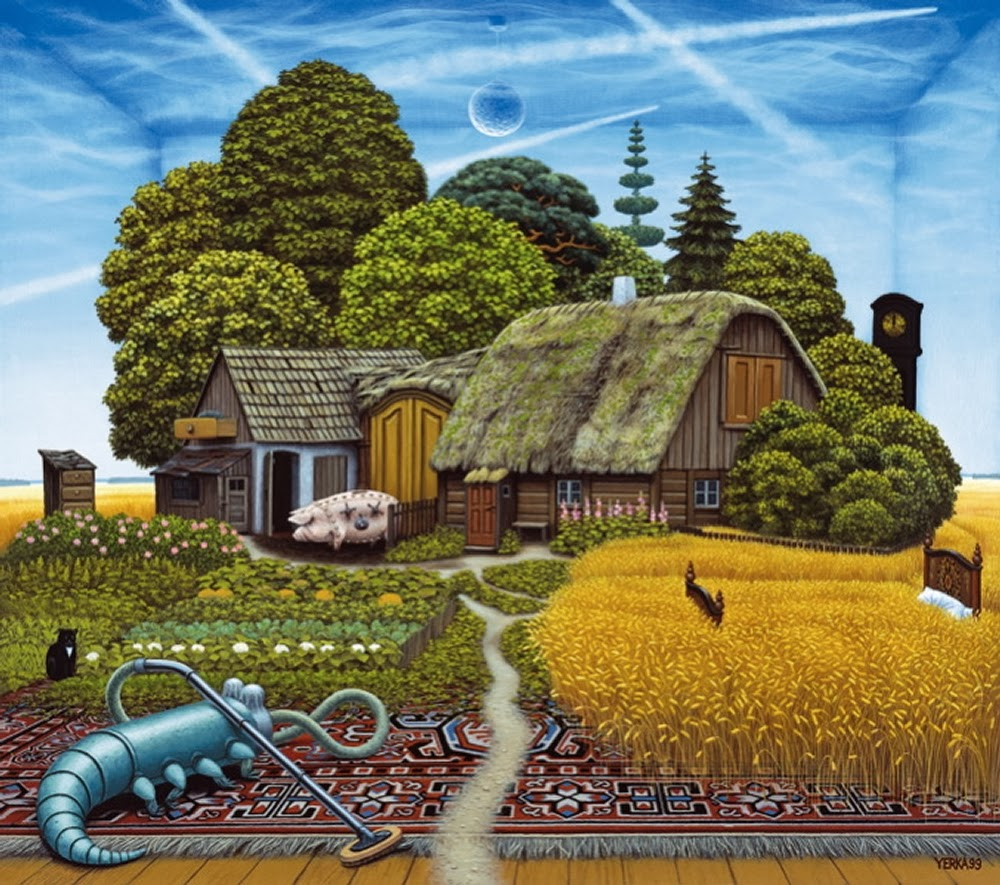 03-Jacek-Yerka-Surreal-Dream-Paintings-www-designstack-co