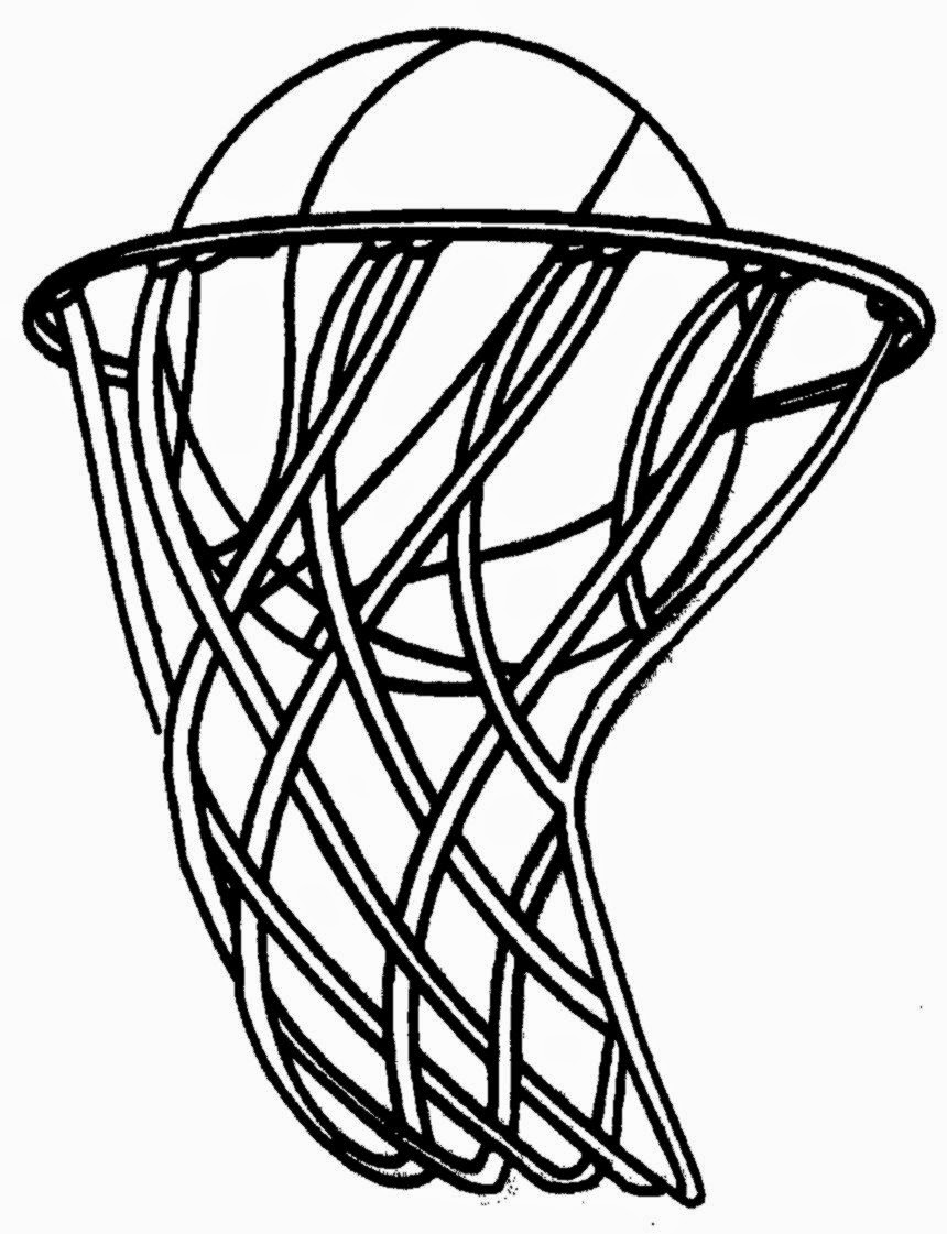 Printable Basketball Math Worksheets basketball coloring