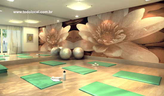 A Pequena Sala De Yoga ~ Dreams Club