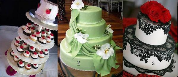 pasteles de boda 2013
