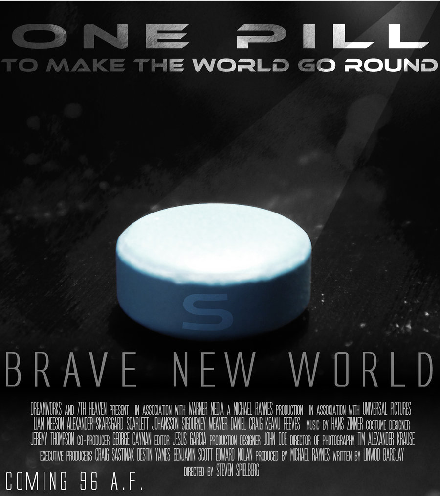 brave new world the perfect world 1 brave new world is  2 it's set  3 it was written in  4 the story takes place in  5 it presents a society  6 the last frame of the video suggests a/an.
