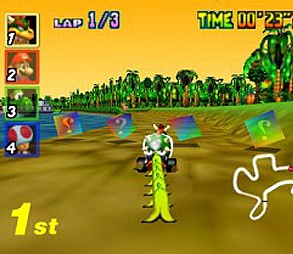 Super Mario Kart PC Version