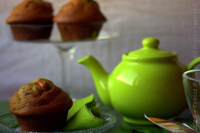 muffin alla banana, anacardi non salati