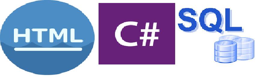 C# , HTML VE SQL HEPSİ BURADA