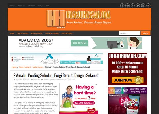 Teknik 'Curi' Design Blogspot