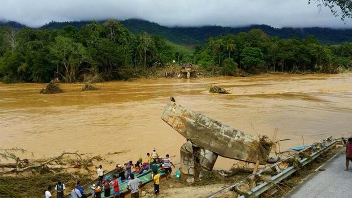 9 Maut Dan 4 Hilang Banjir Di Kelantan 2014