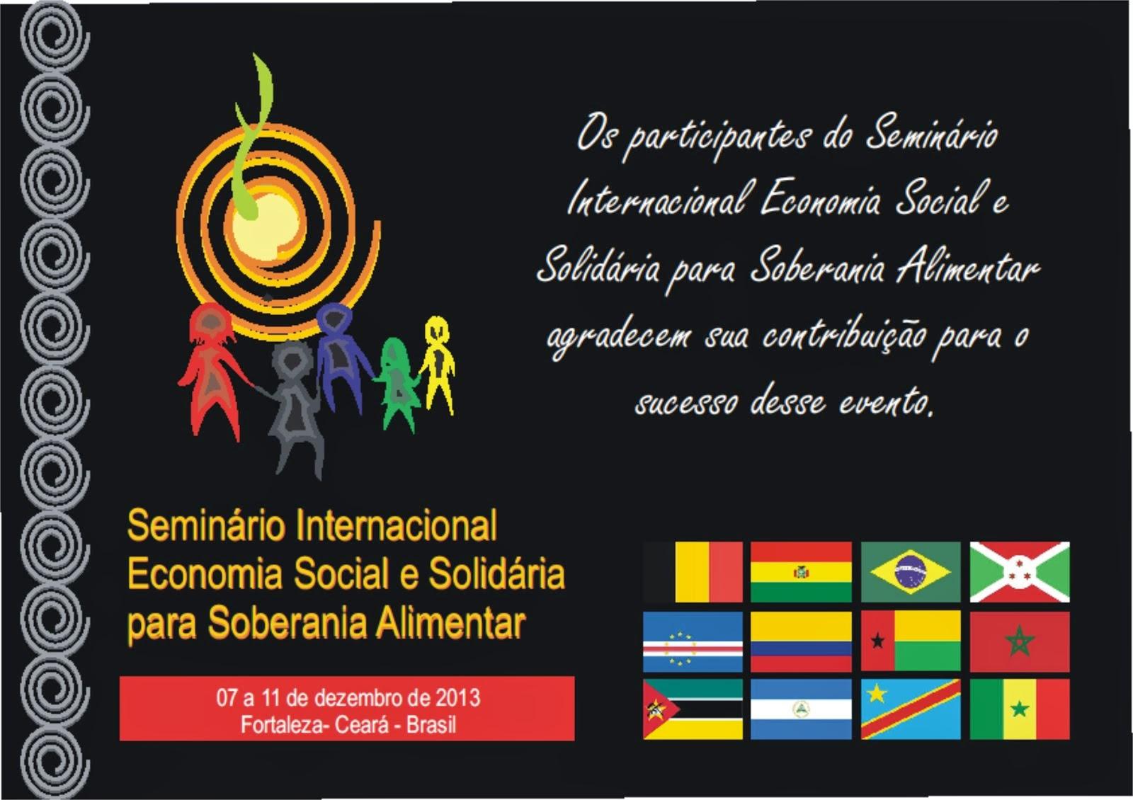Seminário Internacional EcoSol