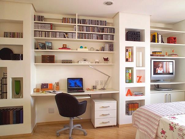 ruang kerja modern dirumah