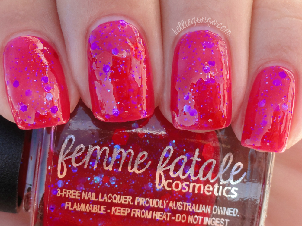 Femme Fatale Cosmetics - Mana Ruby (shade)