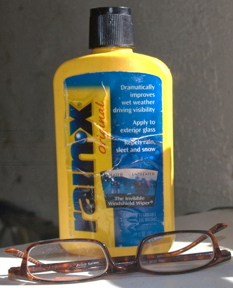 Hike of your Life Fix scratched glasses with RainX