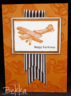 Plane & Simple Card in More Mustard