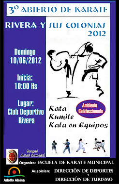 ABIERTO DE KARATE (Solo Karate)
