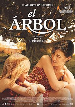 Cartel de la película El árbol de la novela de Judy Pascoe