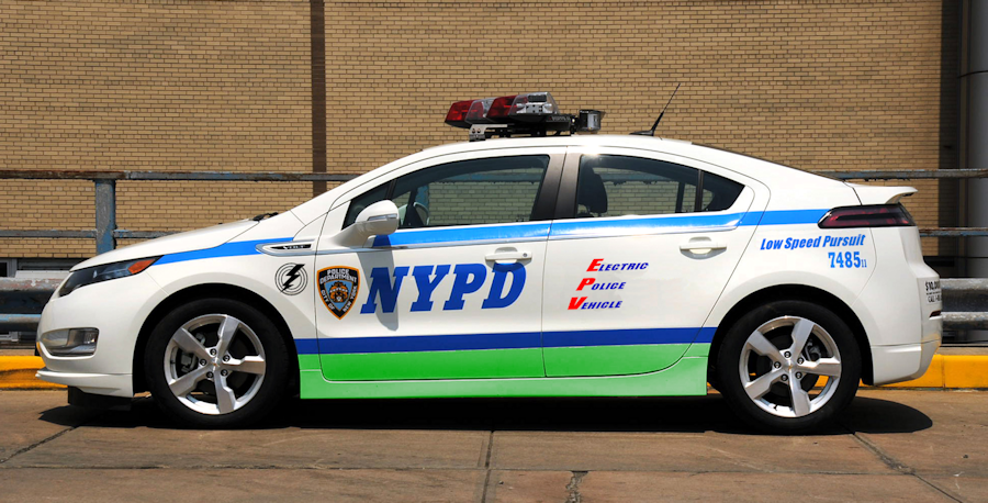 Chevy Volt Police Cruiser
