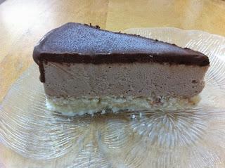 עוגת גלידה קוקוס מוס ושוקולד