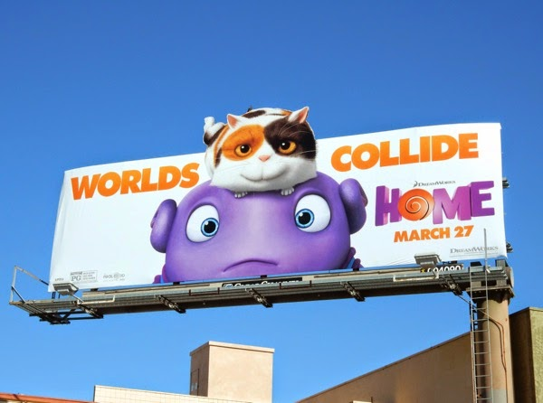 Home movie special extension billboard