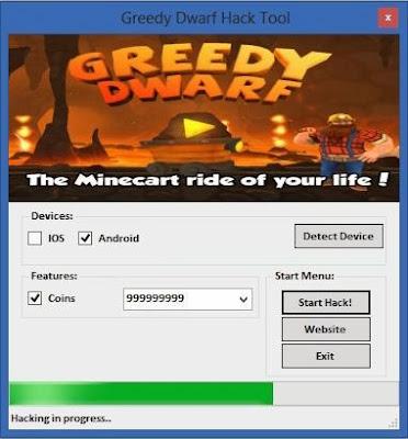 Greedy Dwarf Hack