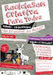 CARTAZ   Workshop Reciclagem Criativa 10 Dez.