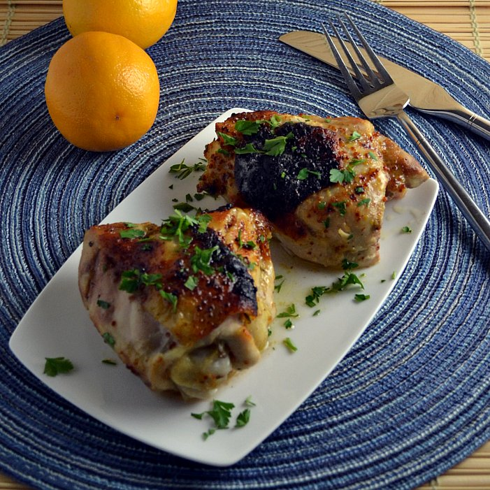 The Foodie Couple: Gutsy Cooks Club: Baked Chicken with ...