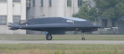 China Lijian stealth combat drone