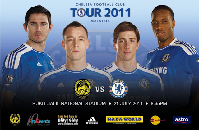Chelsea Vs Malaysia