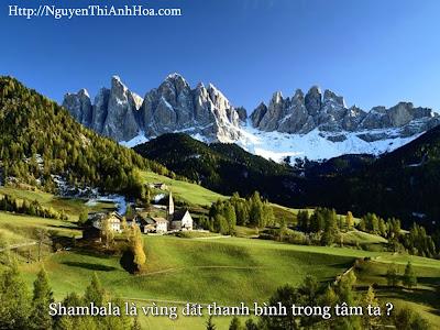 Shambala hay Shangri la vung dat huyet thoai